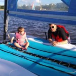 Boating with kids.  How to combat sea-sickness