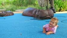 Little Lady Bub at Hippo Beach